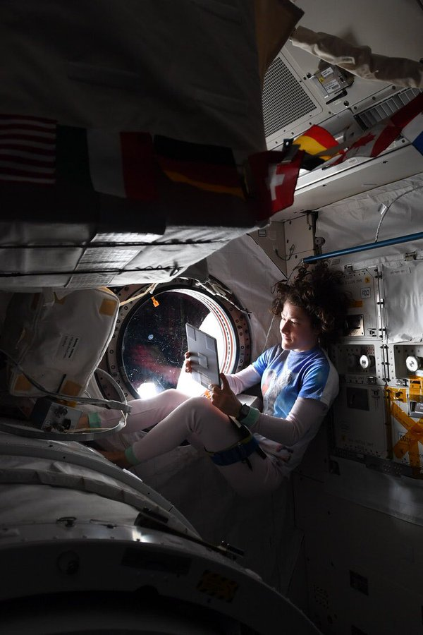 👩🚀📚 Introducing Astronaut Story Time from Earth!  Starting tomorrow, weekdays at 4pm ET, astronaut Christina Koch, who recently returned from 328 days in space, will read a children's book on @Instagram Live. Follow @Astro_Christina to enjoy #NASAatHome: https://www.instagram.com/astro_christina/…