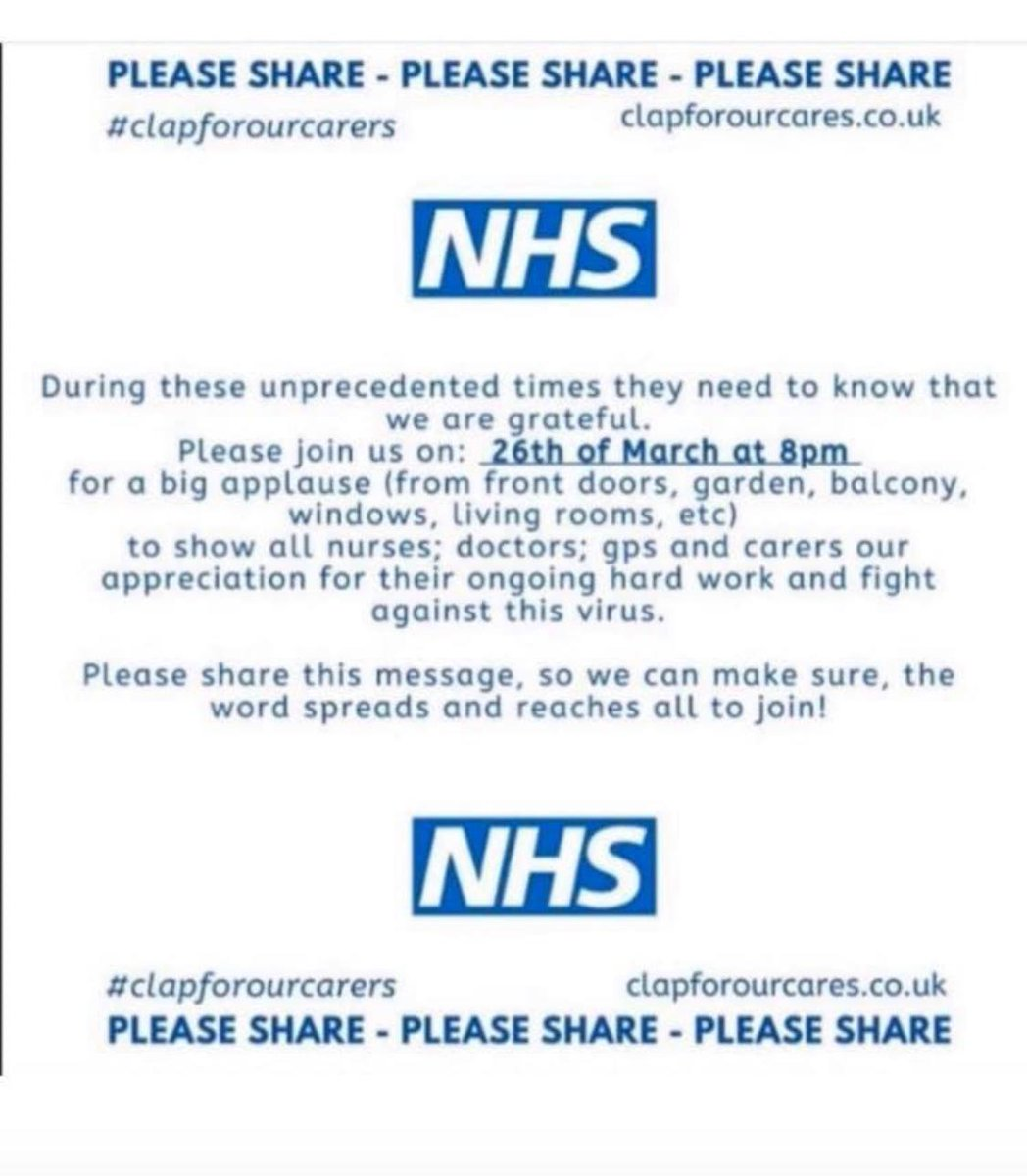 Woodies will be out in force tonight! #tooting #supportournhs