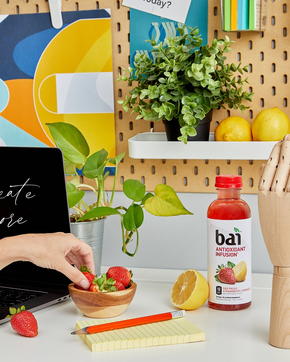 Power your afternoon with the fruitastic flavor of Bai. #Flavorlife