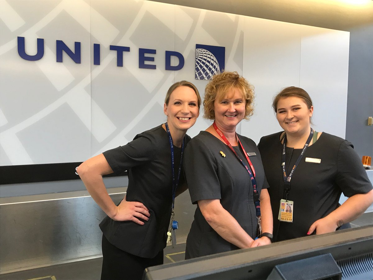 One of the best assets at United Airlines - are the people! @weareunited