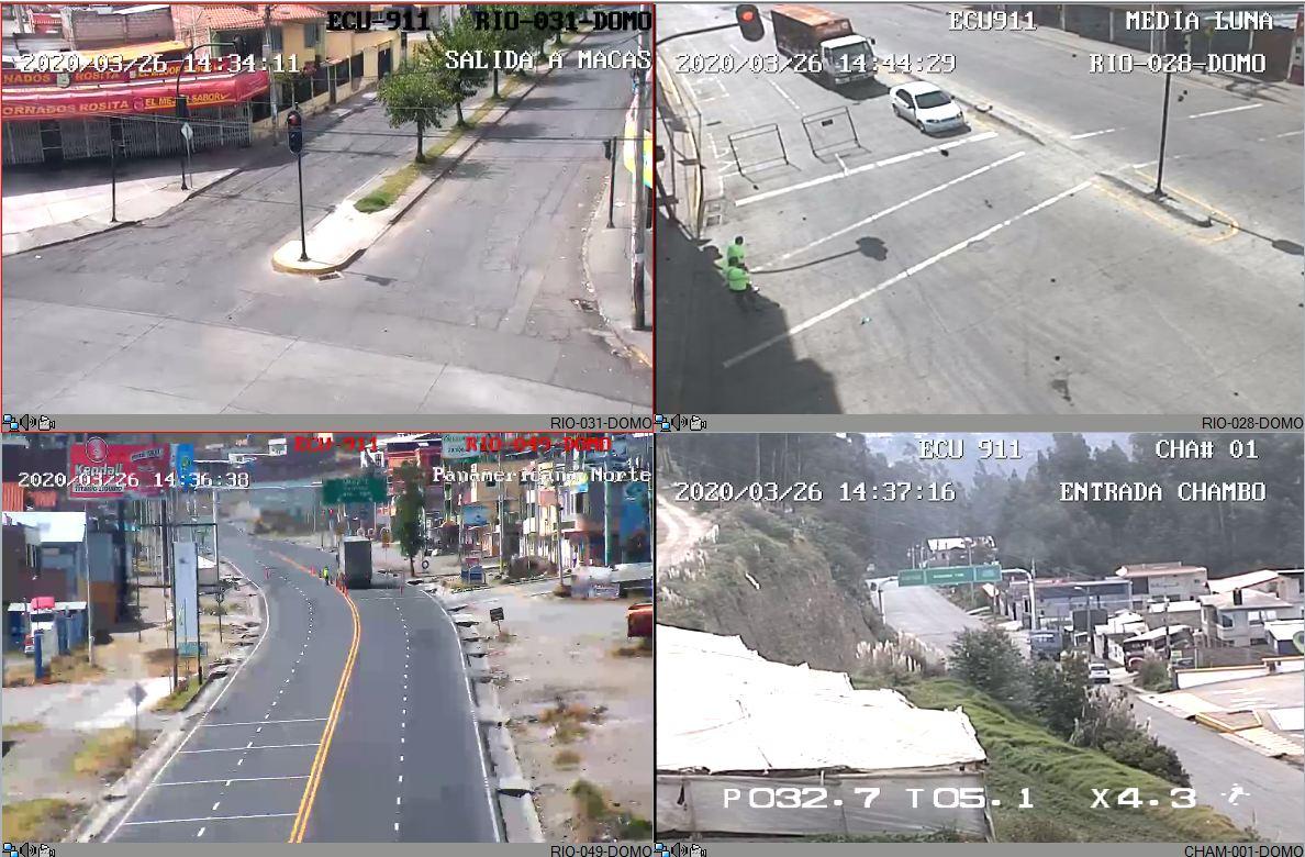 VIDEO: Se incrementan las medidas de control en varios puntos de Riobamba