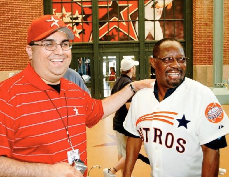 RIP to one of the very best, Jimmy Wynn. The Toy Cannon was a wonderful person and a great friend, as he was to many. I greatly appreciate all the times spent with him and everything he taught me about the Astros and Colt .45s. I recently completed a painting dedicated to him.