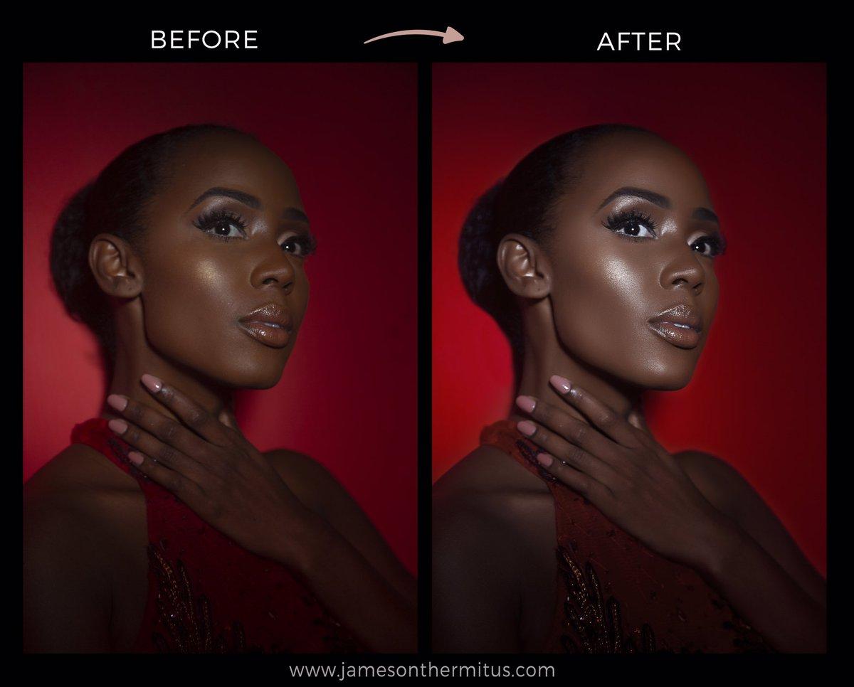 Before and After . . #model #newyork #blackisbeautiful #black #shoot #haiti #haitiangirl #malanin #creative #fashionshoot #haitian #retouching #malaninmagic #JamesonThermitus #beauty #beautyshoot #haitianmodel #afropunk #brownskin #blacklivesmatter #thisishaiti #blackworkpic.twitter.com/DEJJl99Hhu