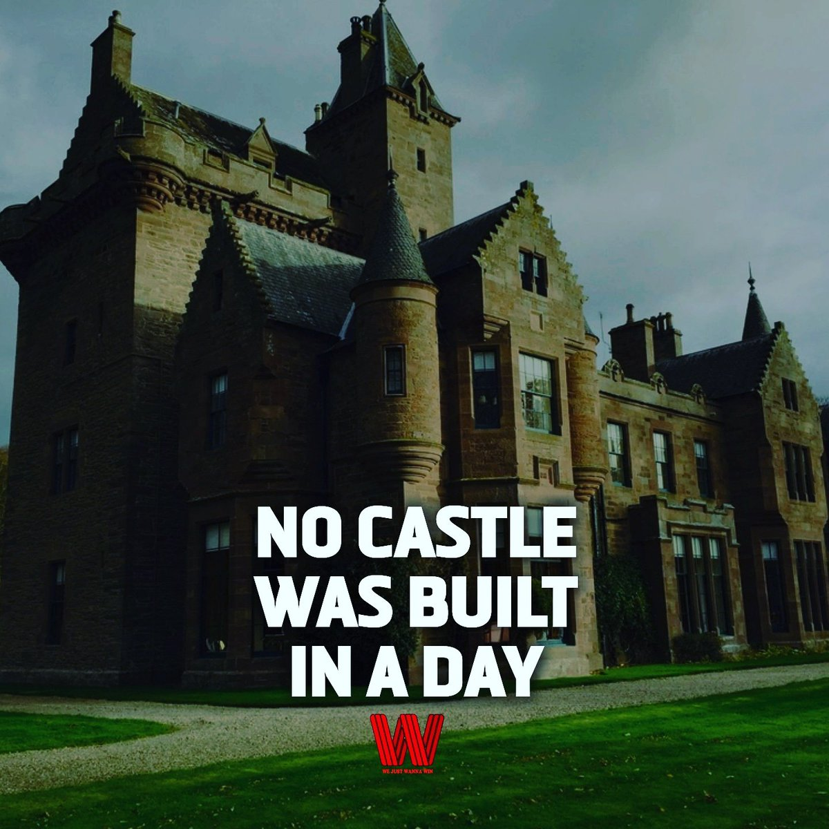 Take a look at The trillion-dollar man's castle, @danspena  It always takes time, determination and hard work. Combine those three attributes and built your castle up. #motivated #MotivationalQuotes #hardwork pic.twitter.com/qEM8SWgm2I