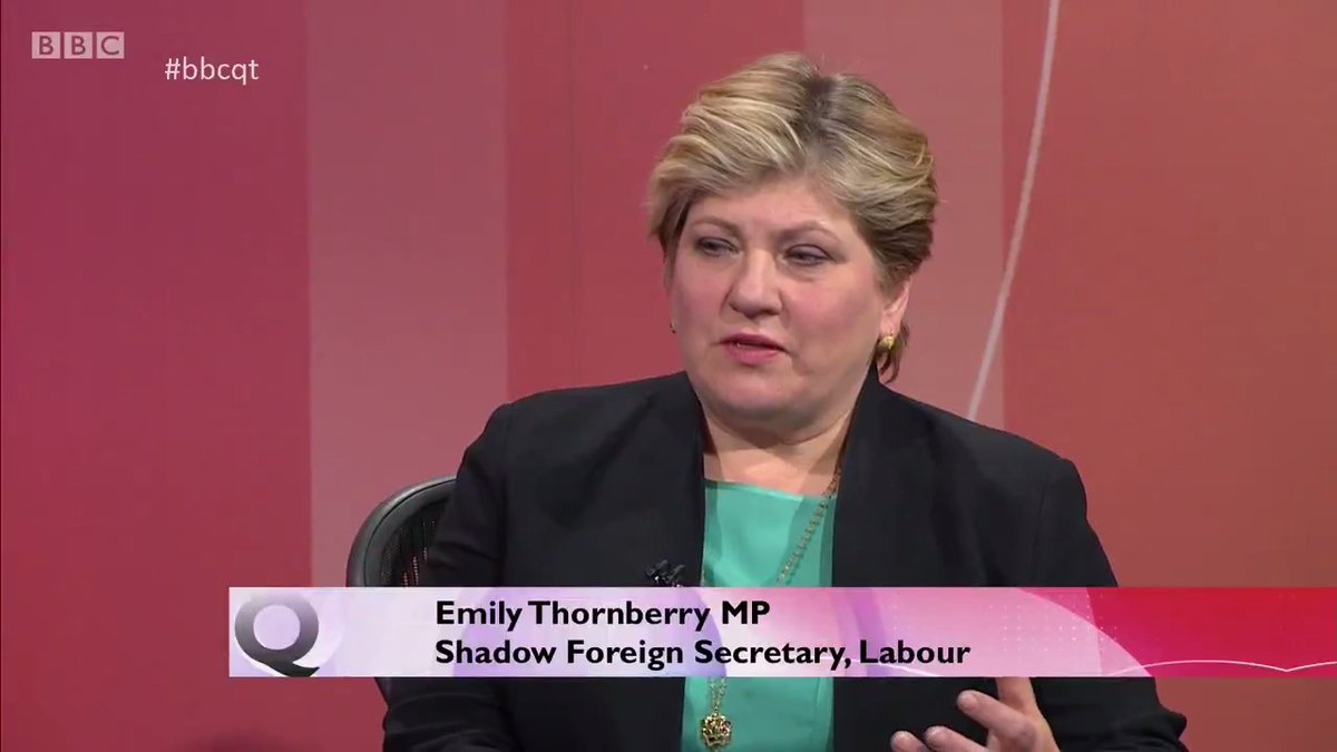 """""""The protection of life trumps everything."""" @EmilyThornberry says there is a """"tension"""" between the MPs focused on keeping the economy going and those focused on public health during coronavirus #bbcqt"""