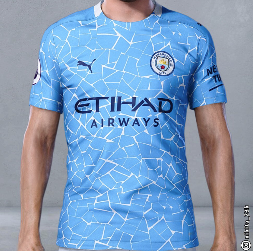 Man City Report On Twitter A Pes Kit Maker Nikita 23k On Ig Has Created The Puma X Manchester City 2020 2021 Home Jersey On The Game S Kit Maker Feature It Is Set To
