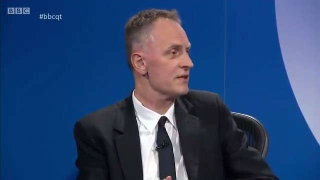 """""""One of the lessons of this epidemic is the connectedness we all feel to one and other"""" @RichardHorton1 says one of the """"benefits"""" that could come after coronavirus is that we develop an interdependence as a society #bbcqt"""