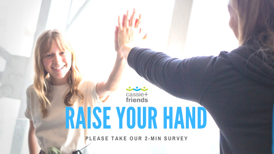 Raise Your Hand: Take our 2-minute survey so we can bring you up-to-date info, clinic updates and a sense of community during #COVID19 and beyond - https://mailchi.mp/cassieandfriends/raise-your-hand-survey… #JIA #JuvenileArthritis #Autoinflammatory #PediatricRheumatology #Canada#StrongerTogetherpic.twitter.com/PwS1IPFac7