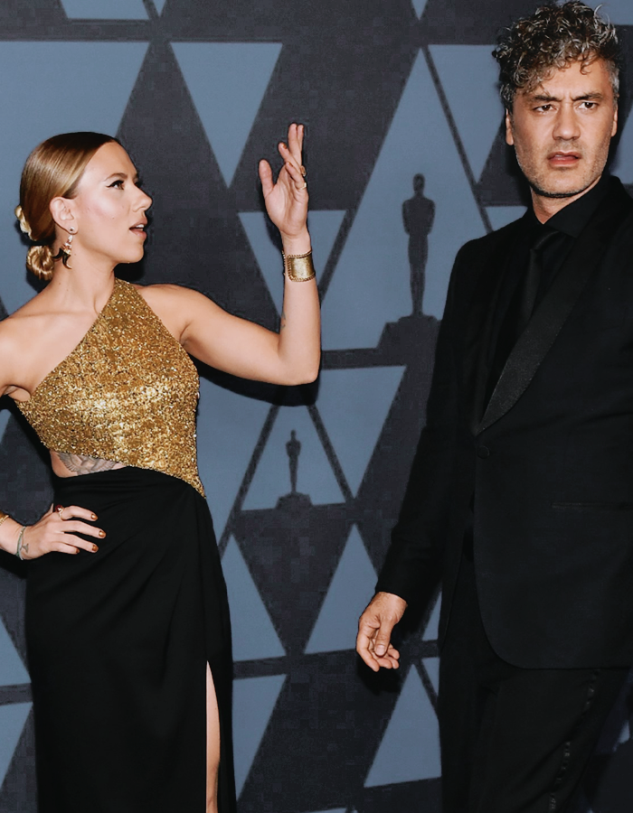 Scarlett Johansson and Taika Waititi at the 11th Annual Governors Awards (2019) <br>http://pic.twitter.com/jJxlOOKcyR