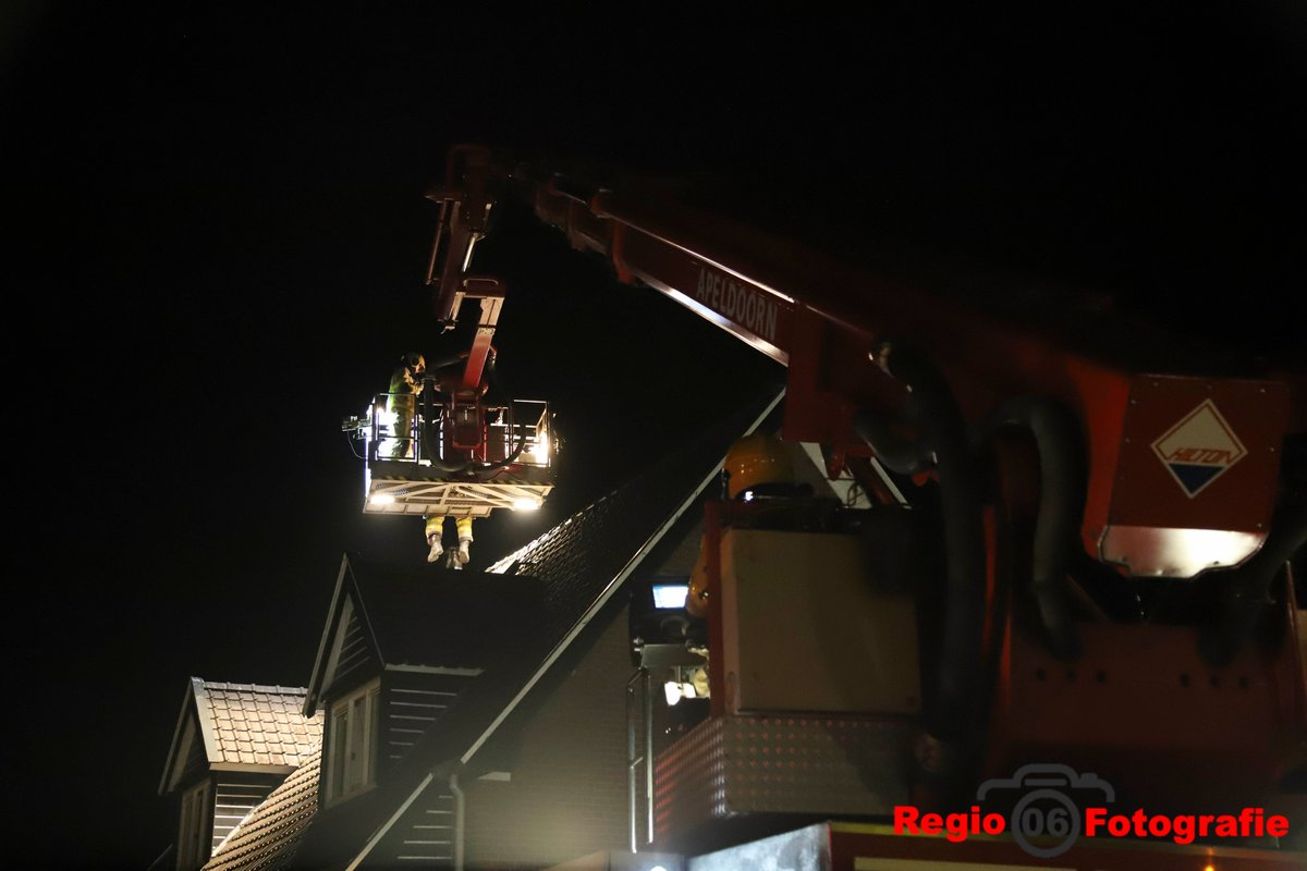 Melding schoorsteenbrand Zwolseweg Apeldoorn
