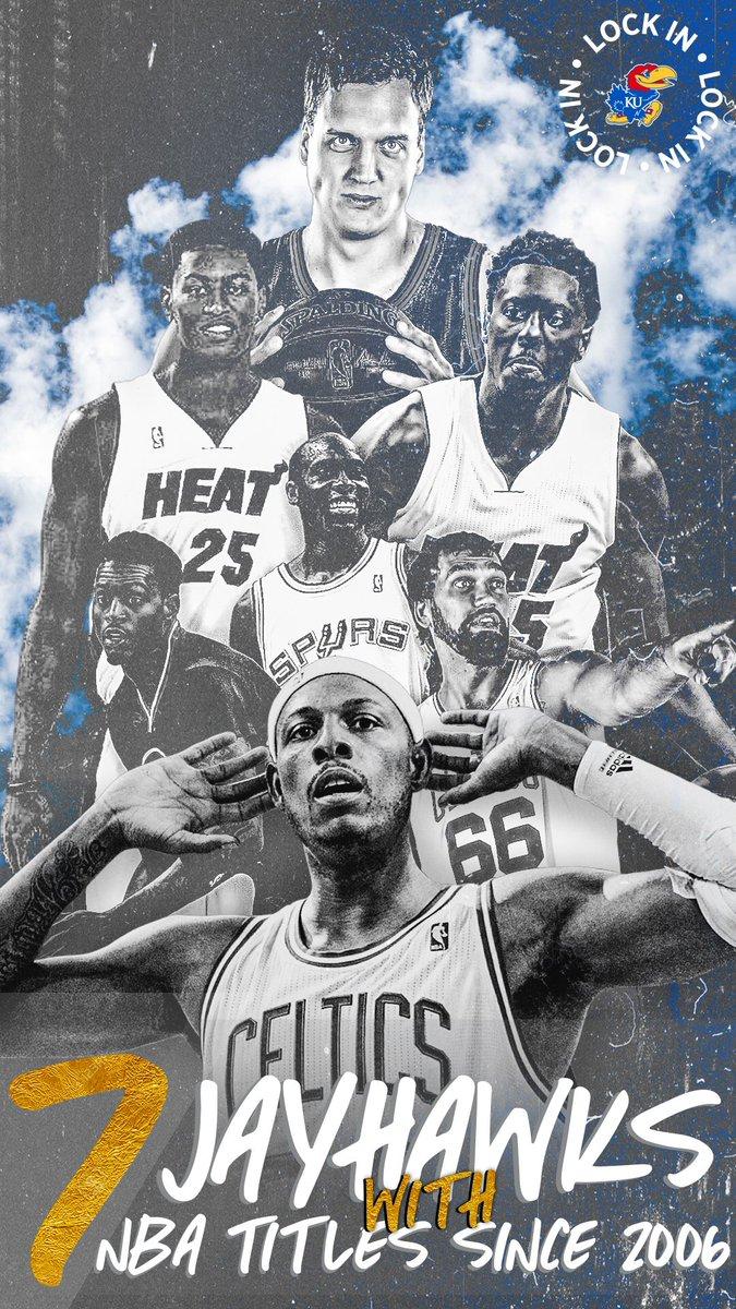 That winner mentality 😤 #NBAJayhawks