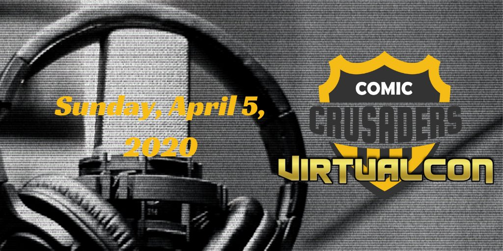 Ready for our #BigAnnouncement? #ComicCrusaders and @UndercoverCapes present the Comic Crusaders Virtual Con 2020! #April5th #indie #comics http://ow.ly/bokt30qt19i pic.twitter.com/O4XdR3x62t