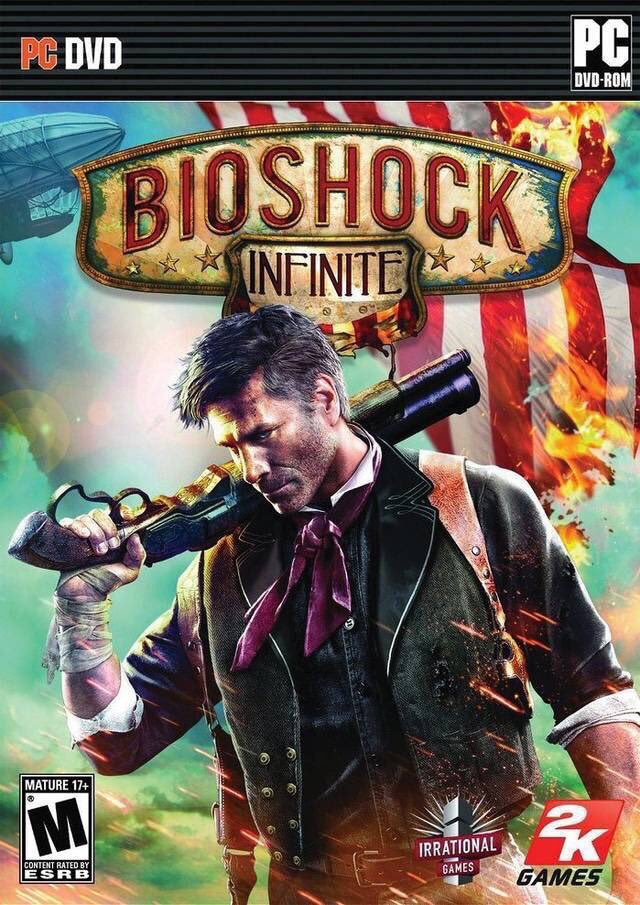 BioShock Infinite for PC, PS3 & Xbox 360 was released on this day, 7 years ago (2013)