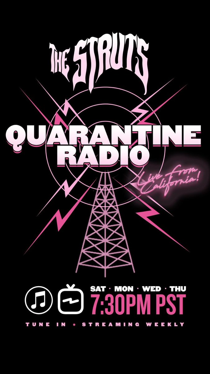 Who would you like to see as a guest with @LukeStruts on quarantine radio? 👀 https://t.co/Gda2eQlpuK