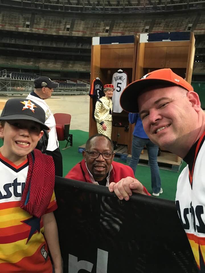 Honored to have met Jimmy Wynn back at the Domecoming in 2018. A true Astros legend. May his memory be a blessing.