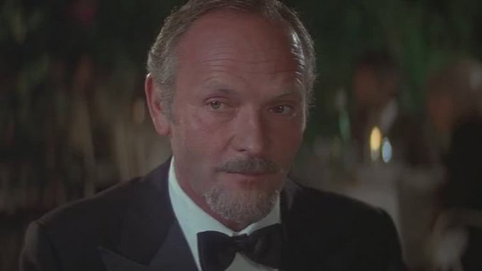 Happy 85th birthday Julian Glover! You ll always be my favourite uncle Ari!
