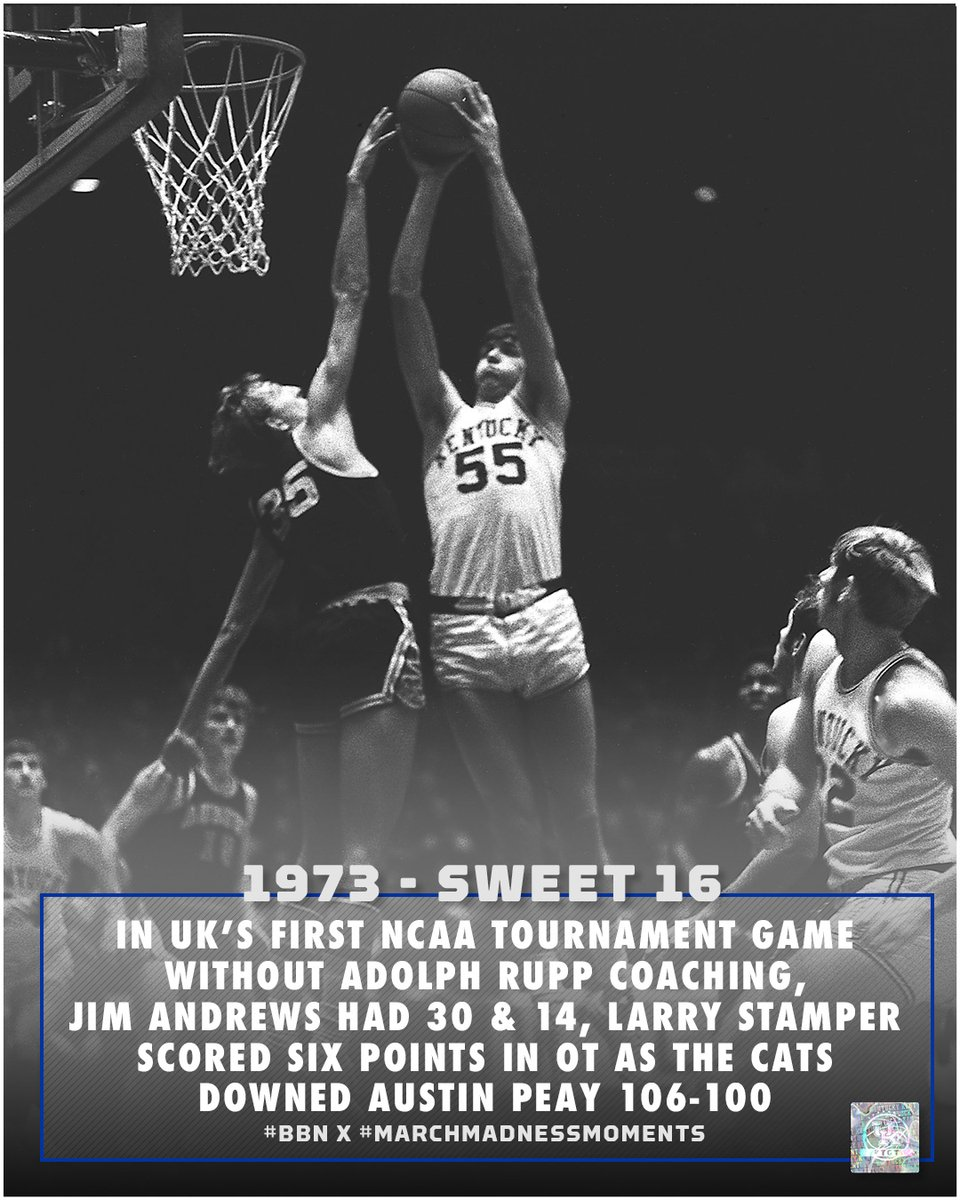 "Kentucky Basketball on Twitter: ""1973 - a new @marchmadness era in ..."