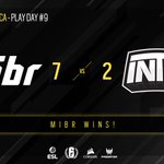 Image for the Tweet beginning: Quick victory for @mibr! This
