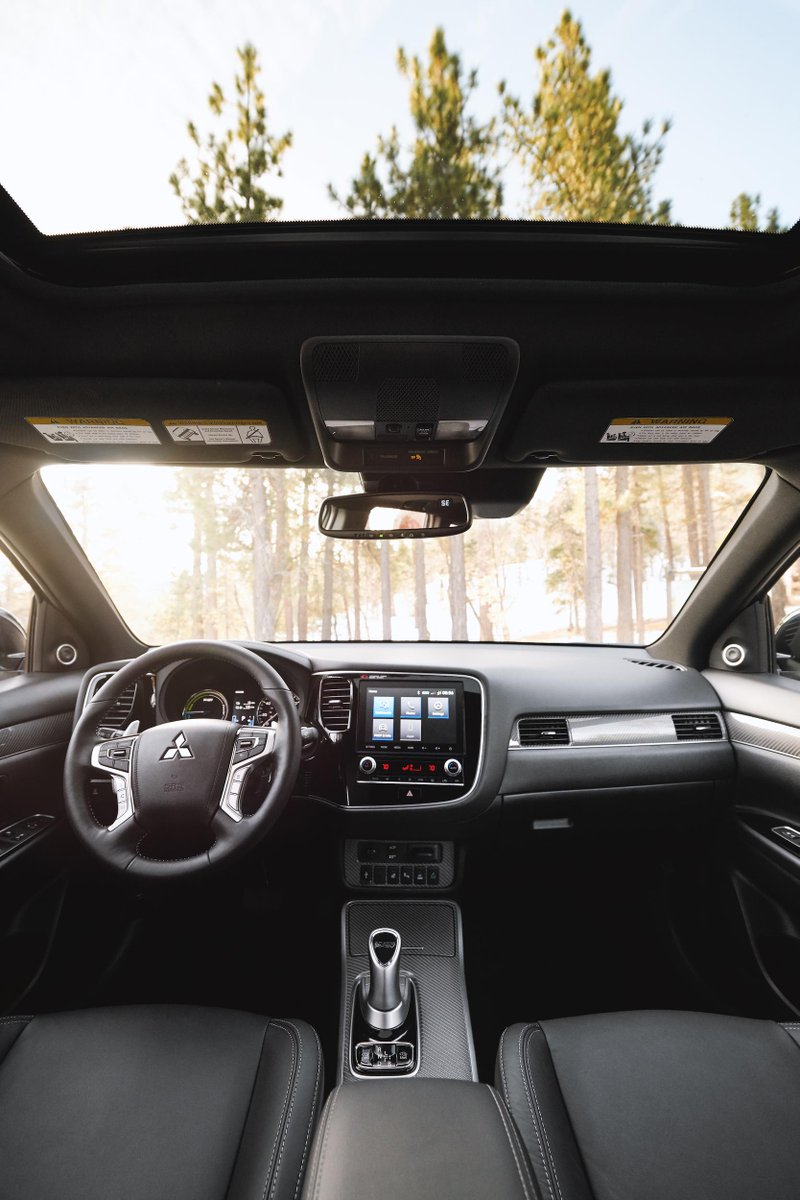 The best seat in the house is in your car right now. #MitsubishiOutlander.