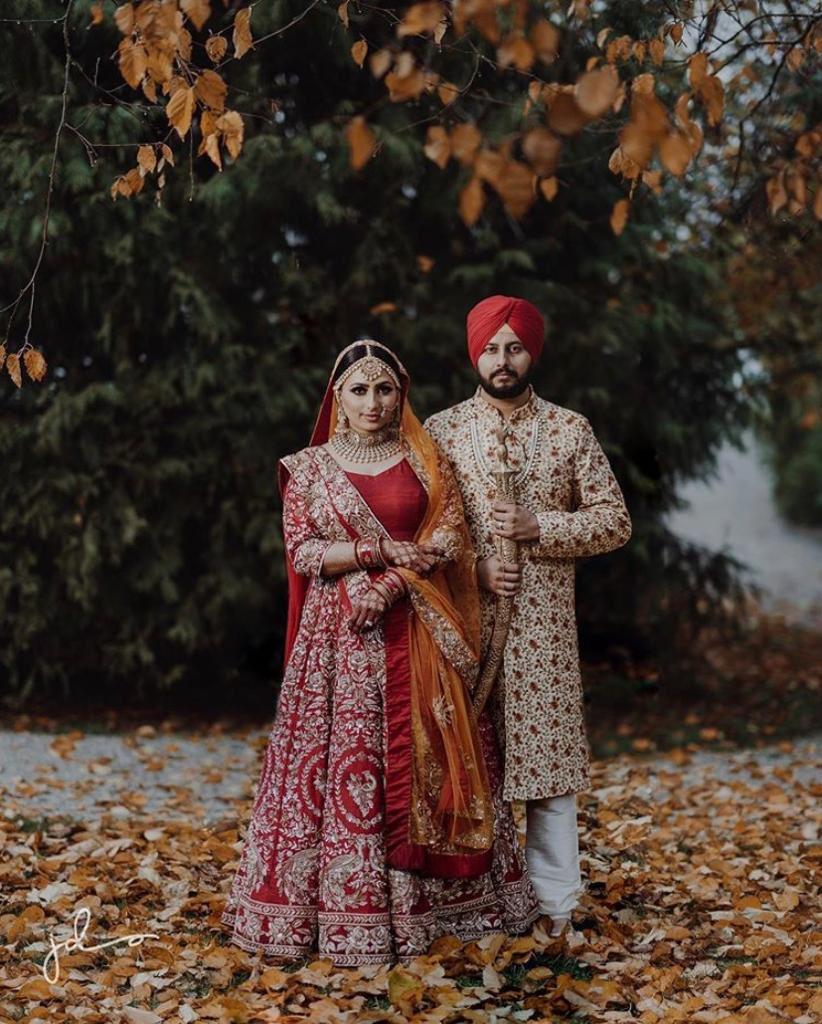 Traditional, aesthetic, sherwani and lehenga created for our bride Sukh and groom Nipun for their big day #weddingevents #indianfashion #anarkali #lengha #indianfashion #indiancouture #indianblogger #style #indiandesigner #indianoutfit #punjabifashion #weddingsutra #fashionpic.twitter.com/1w6lu11Tyy