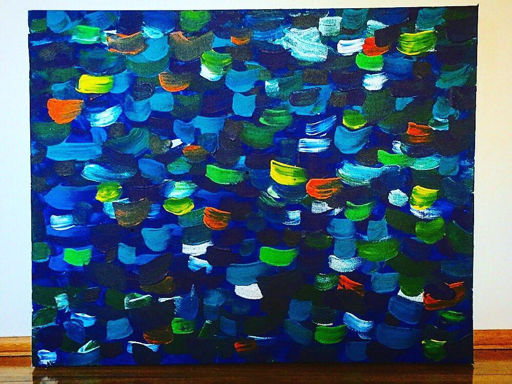 First piece of work..... A tribute to the sea #art #ArtistOnTwitter #ArtistOnTwitter #kunst #kunstler #painting #paintings #canvas #artwork #seaart #paintings #paint #thesea #dasmeerpic.twitter.com/VNt3Iv5NTu