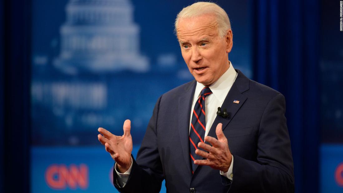 CNN to host town hall with Joe Biden on the coronavirus cnn.it/2JkBVRv