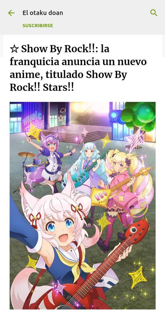 test ツイッターメディア - La franquicia Show By Rock!! Realizara un nuevo proyecto titulado Show By Rock!! Stars!!.Si deseas conocer un poco más, puedes dar clic aquí 👇https://t.co/8AwdqhC7FO https://t.co/W8SPZD789c