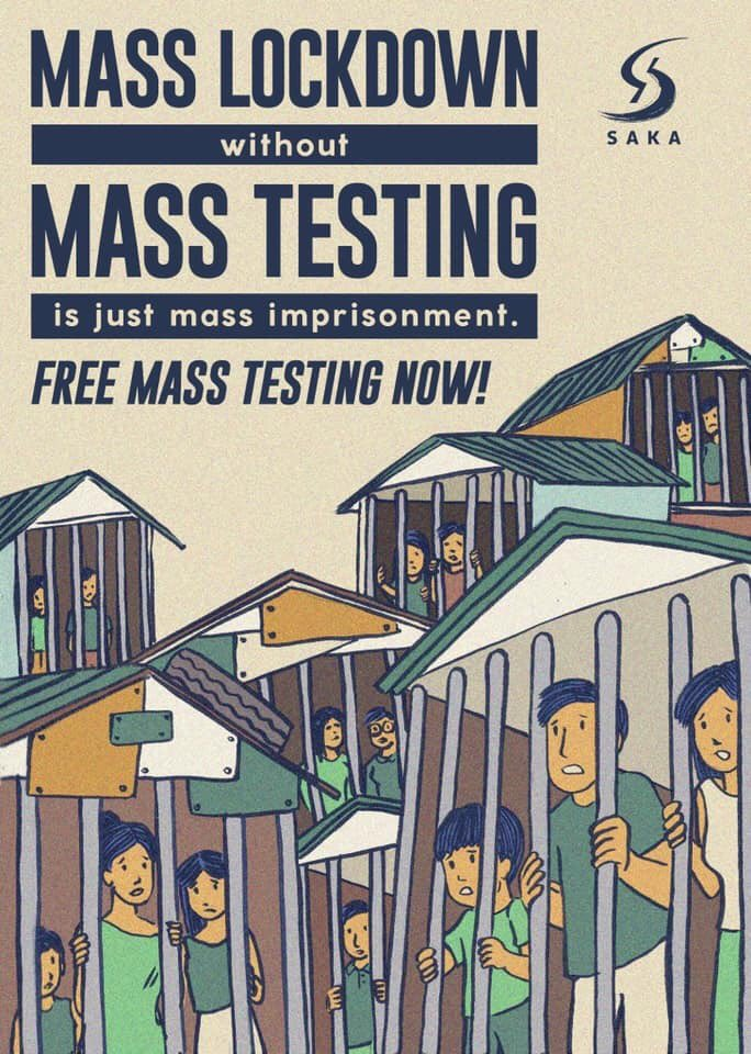 Mass testing now!