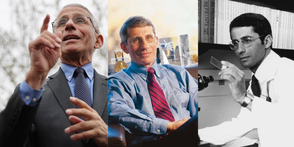 In Fauci we trust. #Fauci #AnthonyFauci #TruthMatters