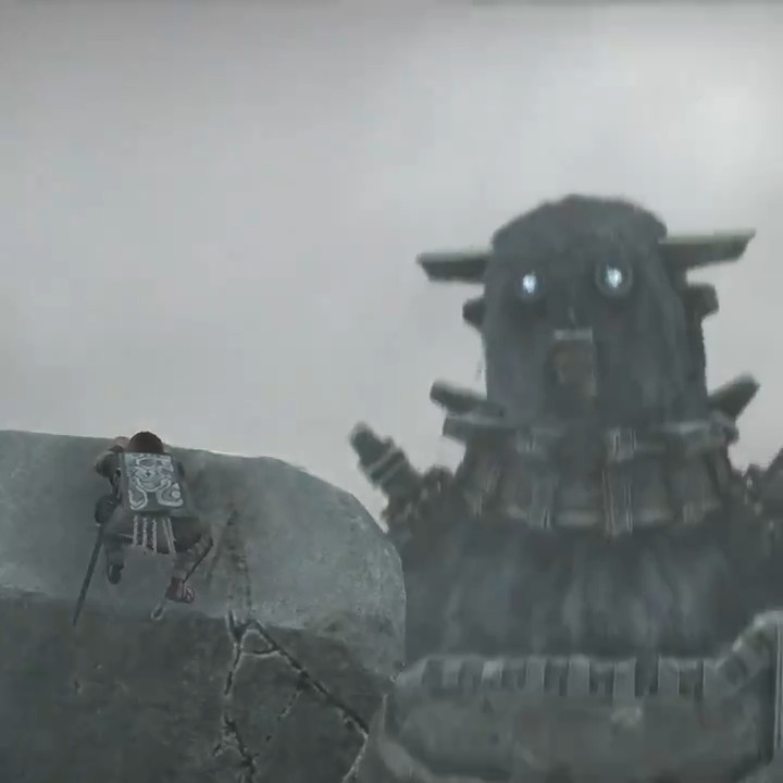 An unforgettable adventure, free with PS Plus.  Download Shadow of the Colossus from now through April 6.