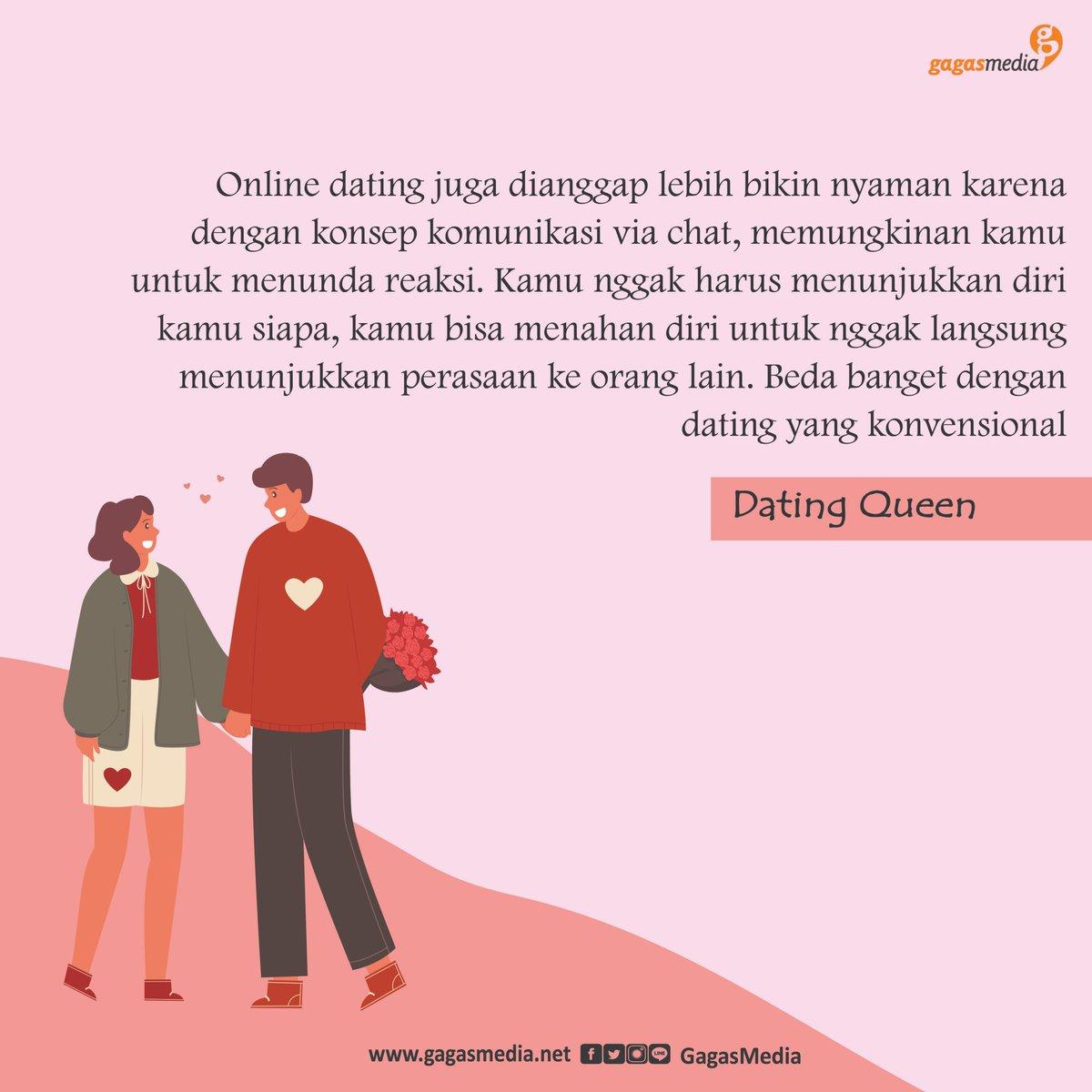 Buat kalian yang penasaran dengan online dating apps, bisa banget nih baca #DatingQueen! Banyak tips menarik buat kalian yang mau cari pasangan atau sekedar cari teman loh.  Nah, kamu udah punya buku #DatingQueen belum nih?  #DatingQueen
