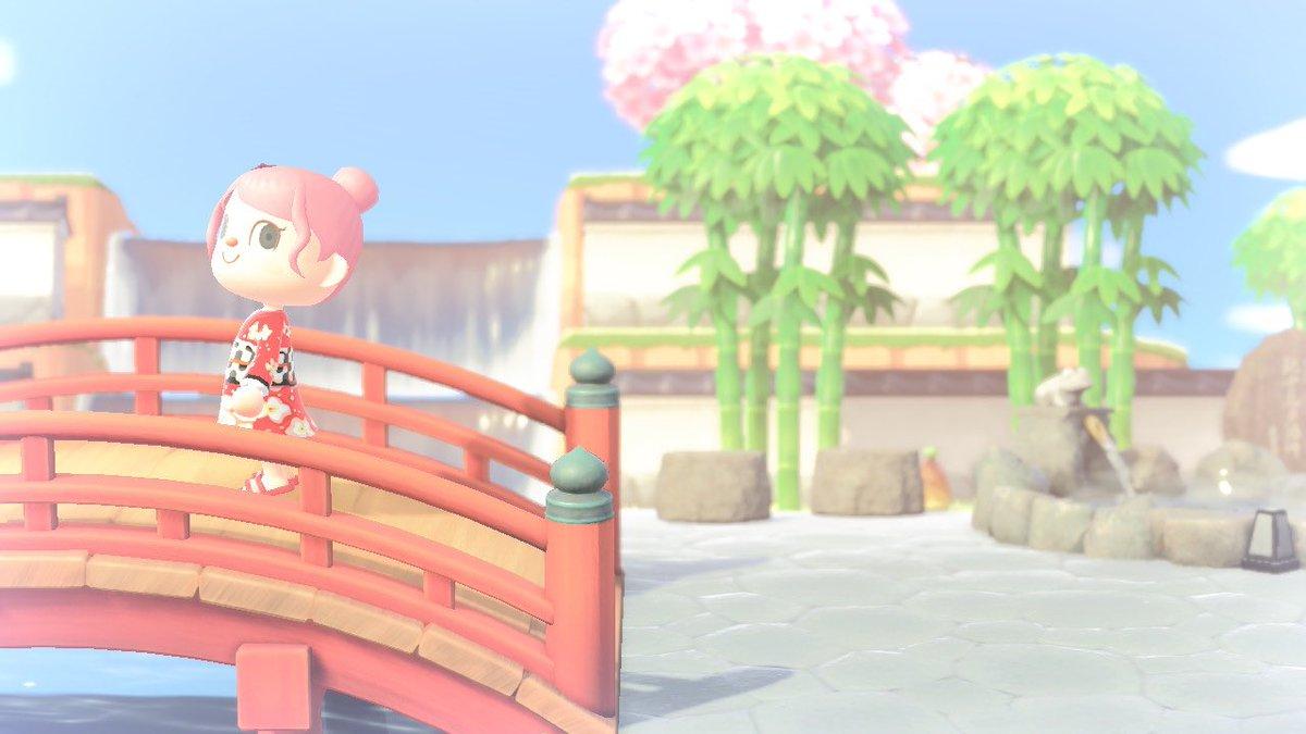 あつ 森 和風 庭園