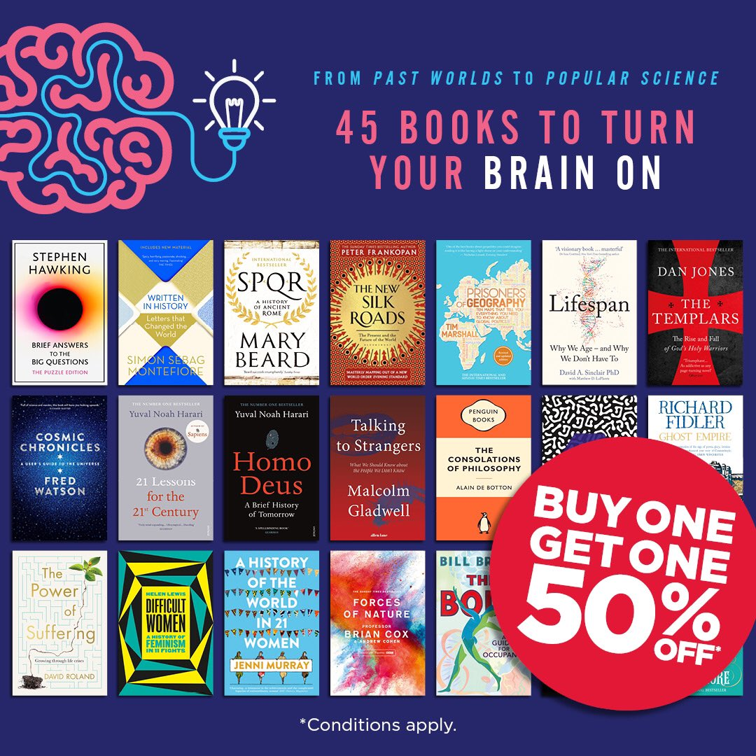 You might not be out and about but your mind can be! We have more than 40 Non Fiction reads that will get your mind exercising with new information. #dymockschatswood #books #nonfiction #StayHomeAustralia #Reading #booklovers pic.twitter.com/kWBRlXq66h