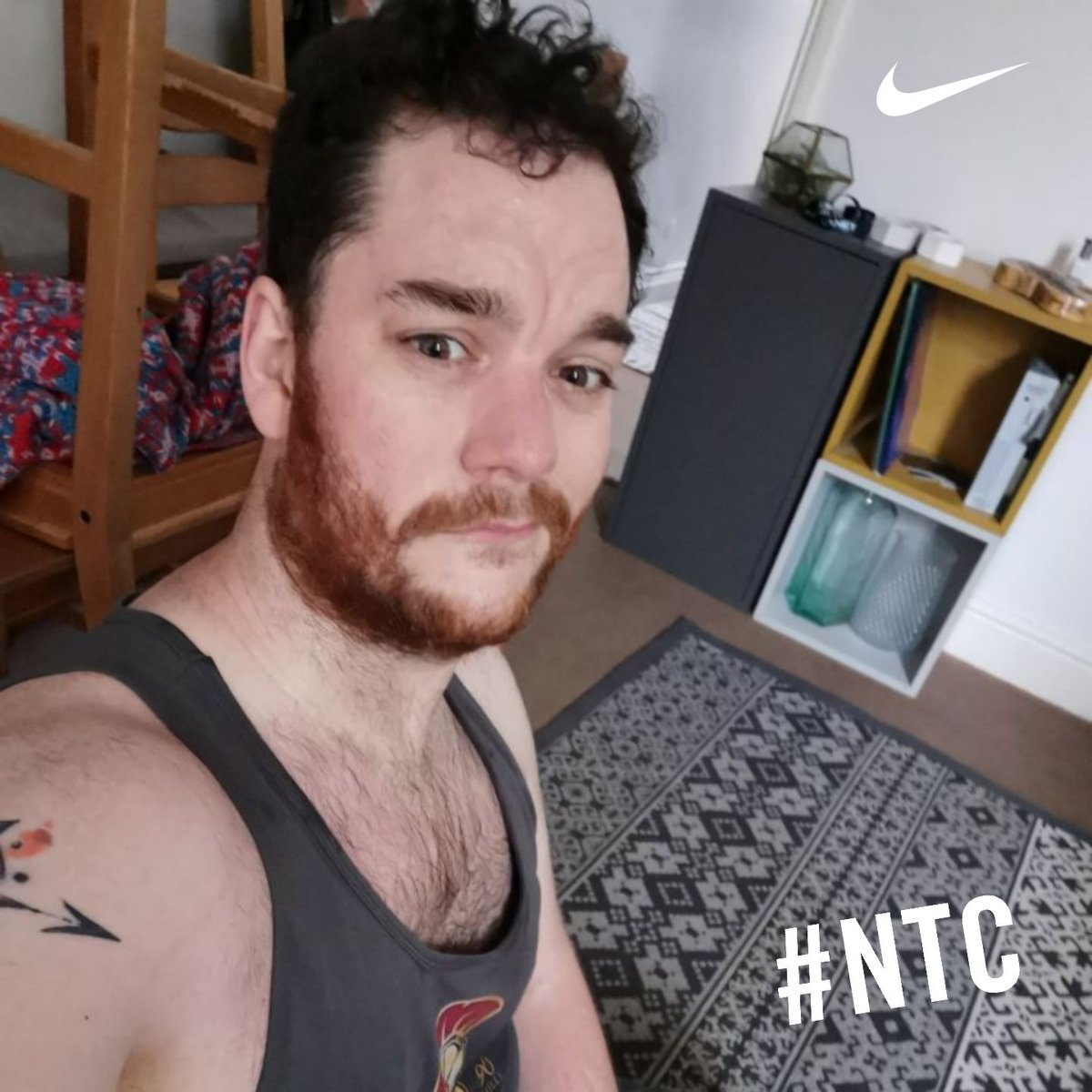 Morning Jog with the dog, followed by a tortuous working from Nike Training Club  #NTC #Niketrainingclub #workoutathomepic.twitter.com/PrAqpPVpon
