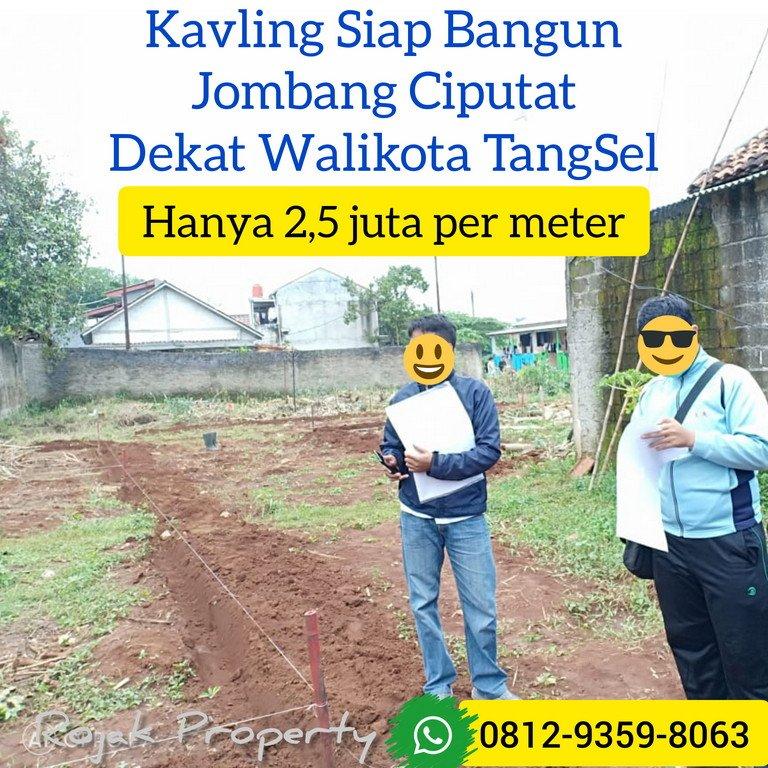 """Tertarik dengan """"Tanah Kavling Murah Jombang Ciputat Dekat Stasiun Sudimara""""? Kunjungi: https://www.jualo.com/iklan/1785216971.2670589…   Kavling Murah Ciputat dekat Stasiun Sudimara  Info lanjut bisa WA ke 081293598063  #ciputat #tangerangselatan #WaspadaCOVID19  #COVID2019pic.twitter.com/WQcuCzQUpY"""
