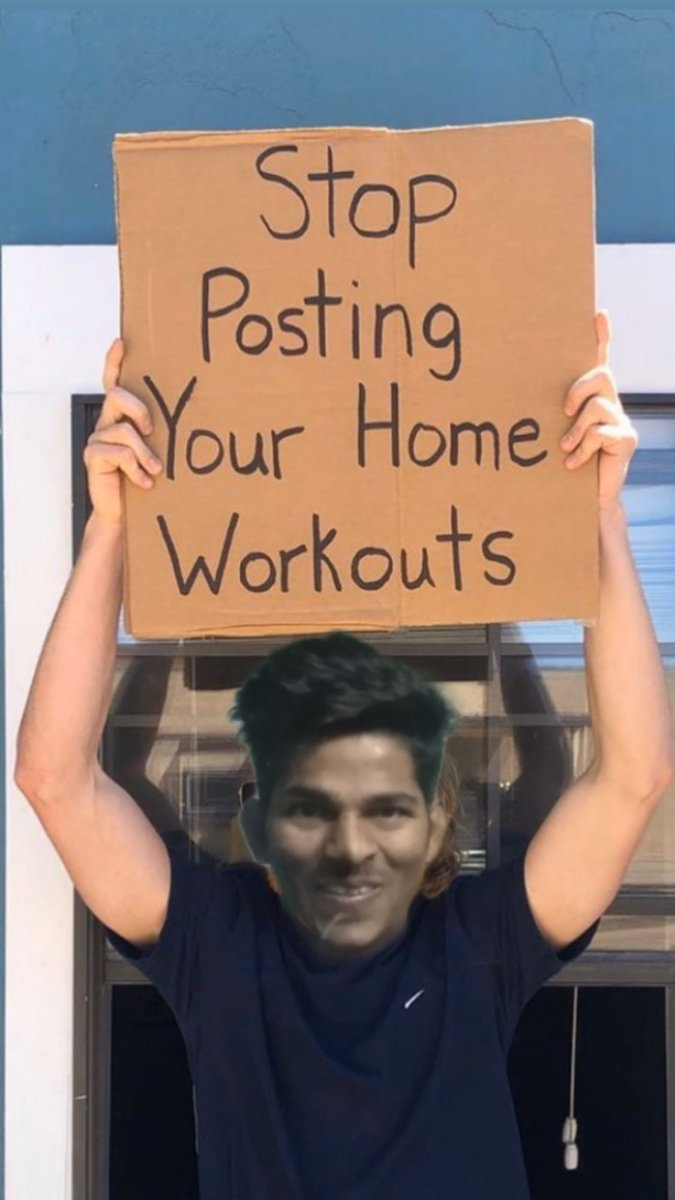 Stop posting your home workouts #StayAtHome  #codiv19 #Constitution #21daylockdown @diljitdosanjh @adelamusicpic.twitter.com/6Tu5LG6E1l – at Rani Bagh