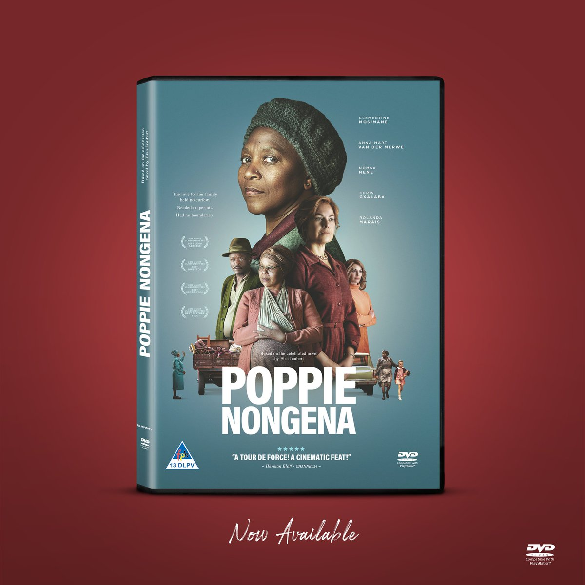 Own the incredible true-life story of #PoppieNongena.  DVD now available at all major online outlets.  #PoppieNongenaFilm #OrderOnline https://t.co/cy6MBETlHU