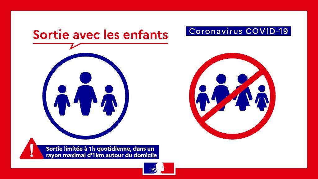 Quelques règles concernant les sorties avec les enfants en temps de confinement par ici >> #COVID19 #lormont #confinement #règles #attestations #sorties twitter.com/PrefAquitaine3…