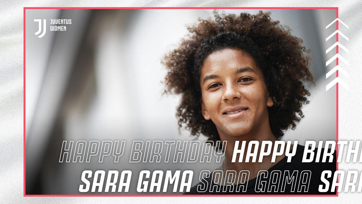 🏆Coppa Italia  🏆Italian Super Cup 🏆🏆 Scudetti  Happy Birthday to Captain fantastic, @SaraGama_ITA! 🛡⚪️⚫️