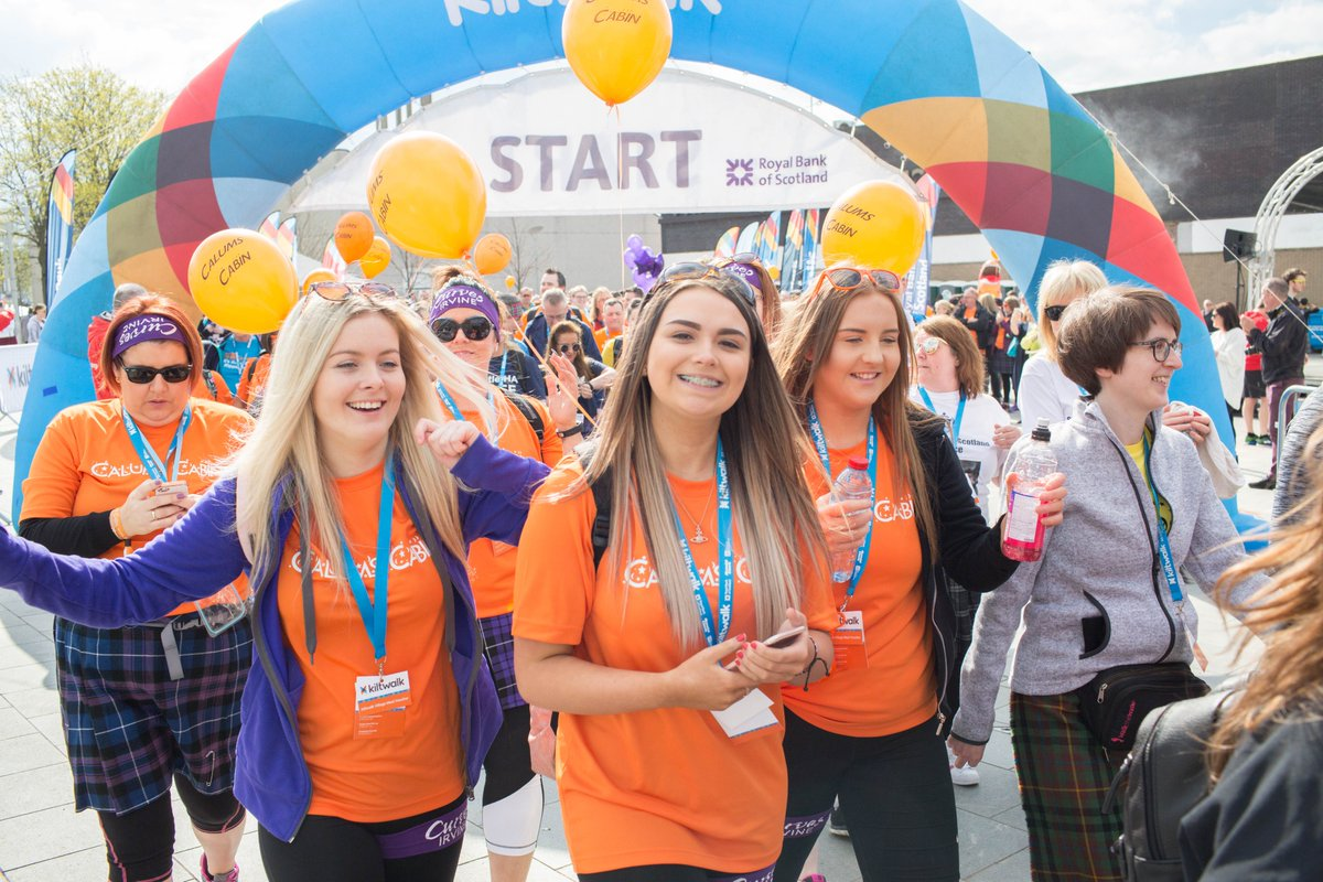 Glasgow Kiltwalkers, please have your fundraising in by March 3⃣1⃣✅ It will get a 5⃣0⃣% boost thanks to @SirTomhunter✅ And is then paid out to your chosen charity ASAP ✅  👉  #KiltwalkGlasgow