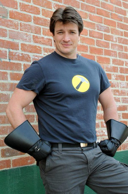 Happy birthday to Canadian-American actor Nathan Fillion, born March 27, 1971.