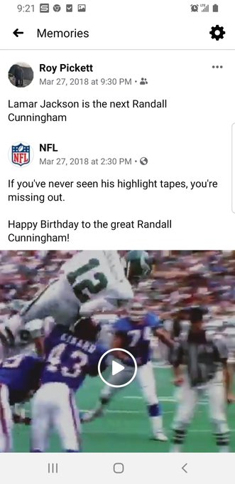 Happy birthday to Randall Cunningham