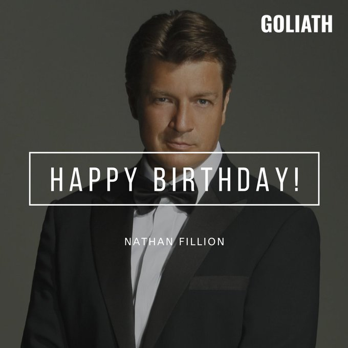 Happy 49th birthday to Nathan Fillion, best known for Castle, Firefly, Santa Clarita Diet, The Rookie, and Serenity.