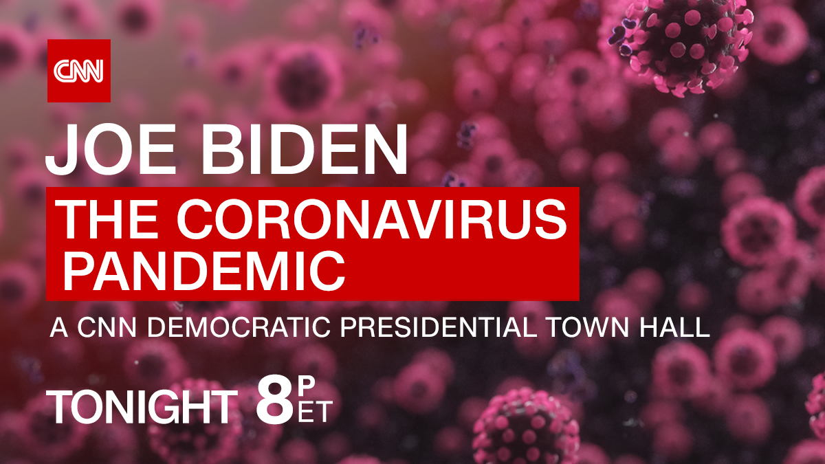 What would you ask @JoeBiden about the Coronavirus crisis and what he would do about it?The former VP joins @AndersonCooper for a live #CNNTownHall tonight at 8 p.m. ET