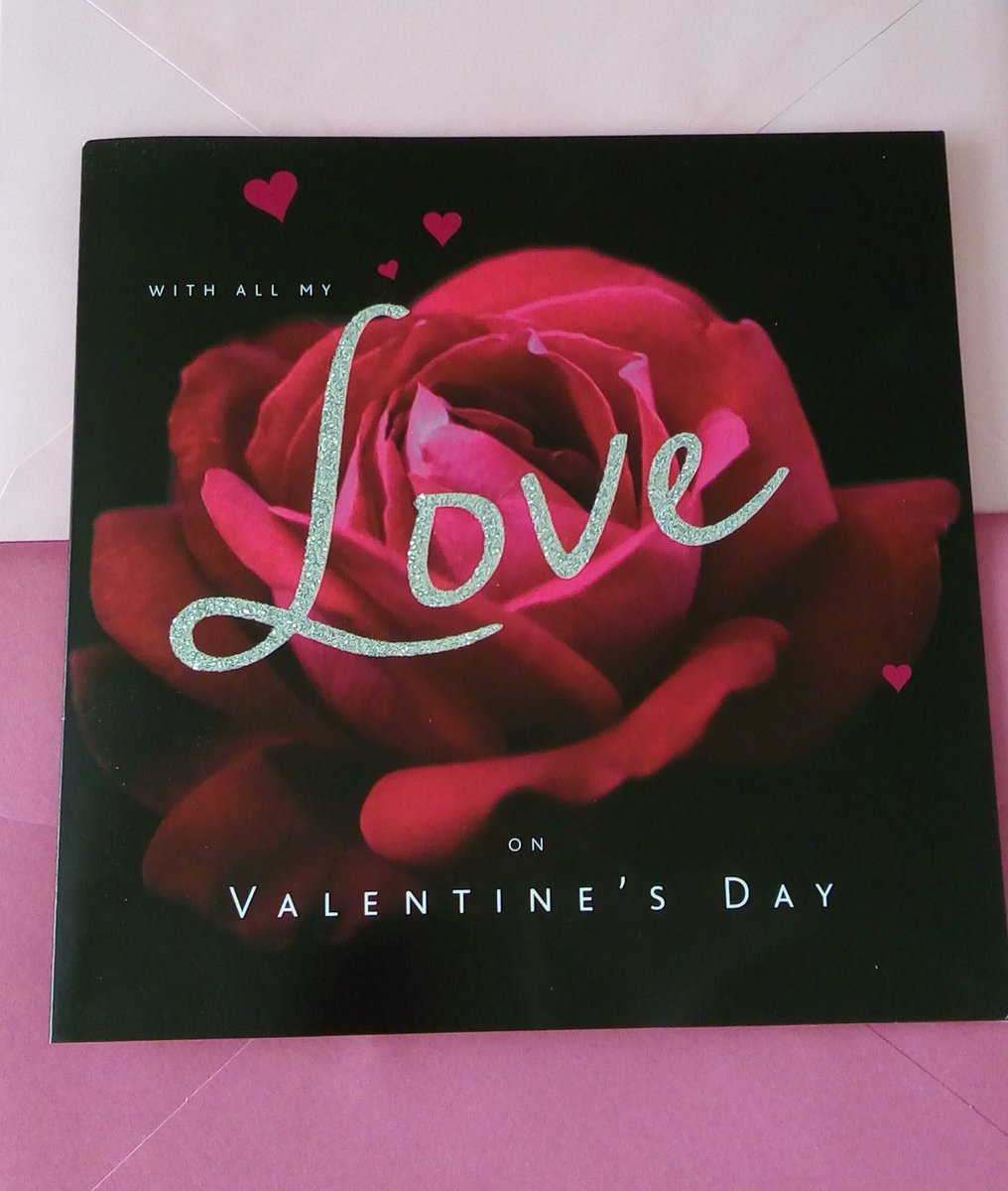 #thingstobethankfulfor This lovely #ValentinesDay2020 card from @CarsandGirlsMag I look at it when I get anxious about #coronaviruspic.twitter.com/3zBRmbfPPH