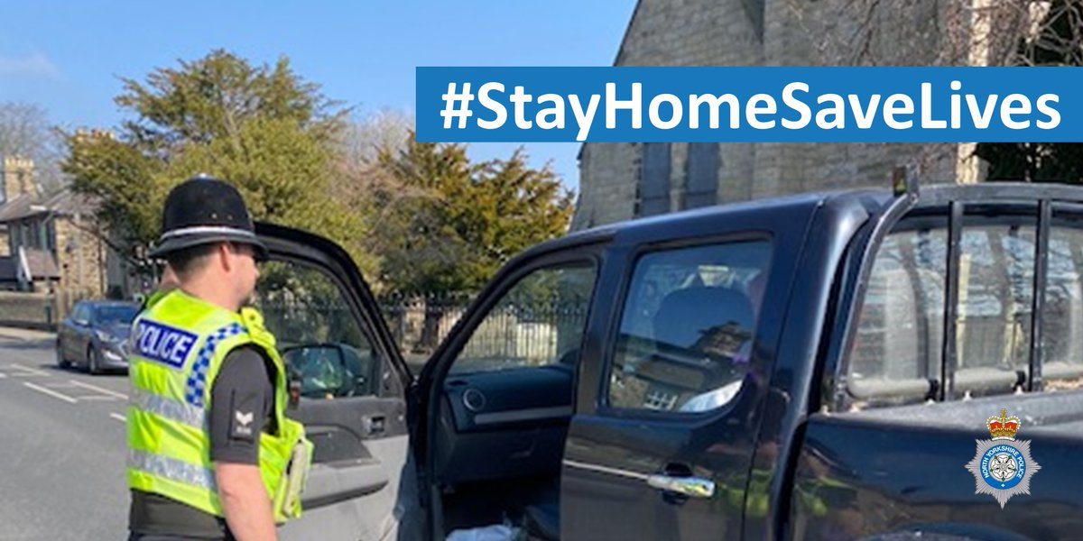 It's a simple message:  ⛔ This weekend, do NOT travel to our countryside beauty spots - either by car or motorcycle - for exercise or any other non-essential reason.    #StayHomeSaveLives (1/4)