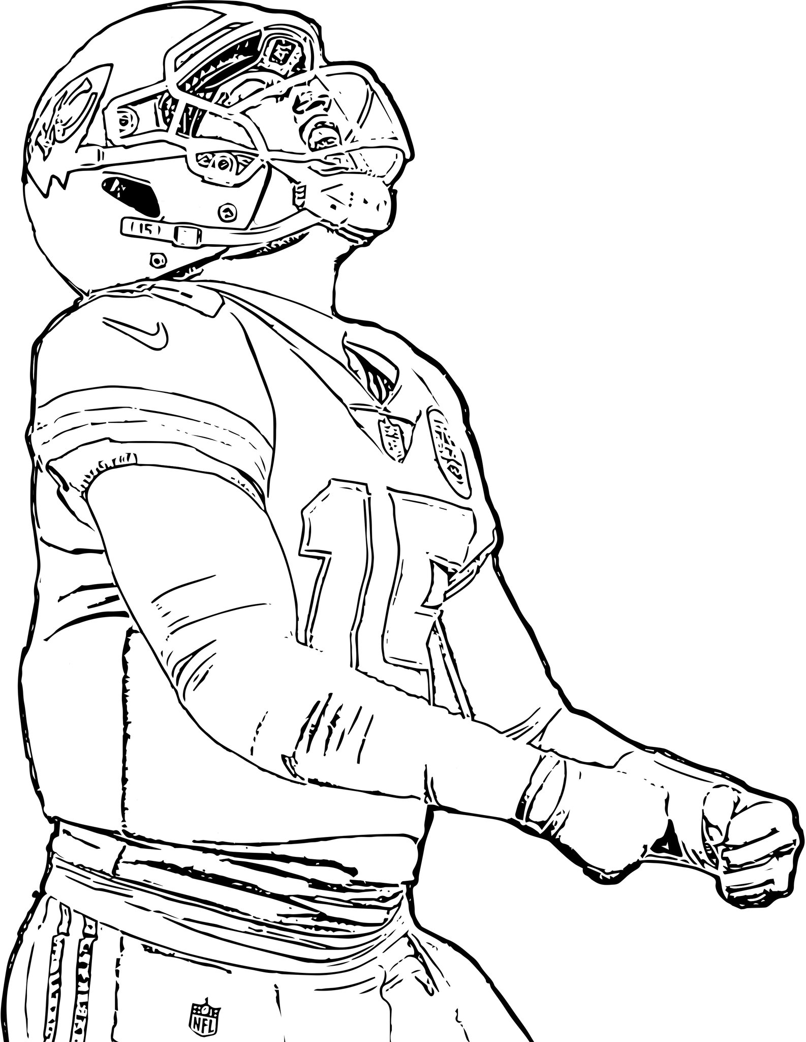 """Kansas City Chiefs on Twitter: """"Get your coloring on 🖍 Print out"""