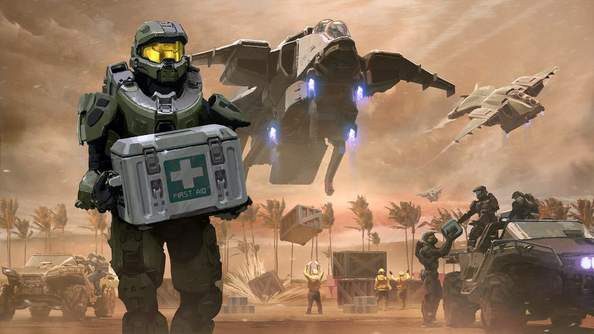 Be a hero and lend a hand to those in need. Support impacted communities and protect the most vulnerable with the Relief & Recovery REQ Pack in Halo 5. All proceeds go directly to @GlobalGiving s Coronavirus Relief Fund. #WeGotThisSpartans   http://aka.ms/ReliefPack