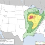 Image for the Tweet beginning: Midwest reloading again today and