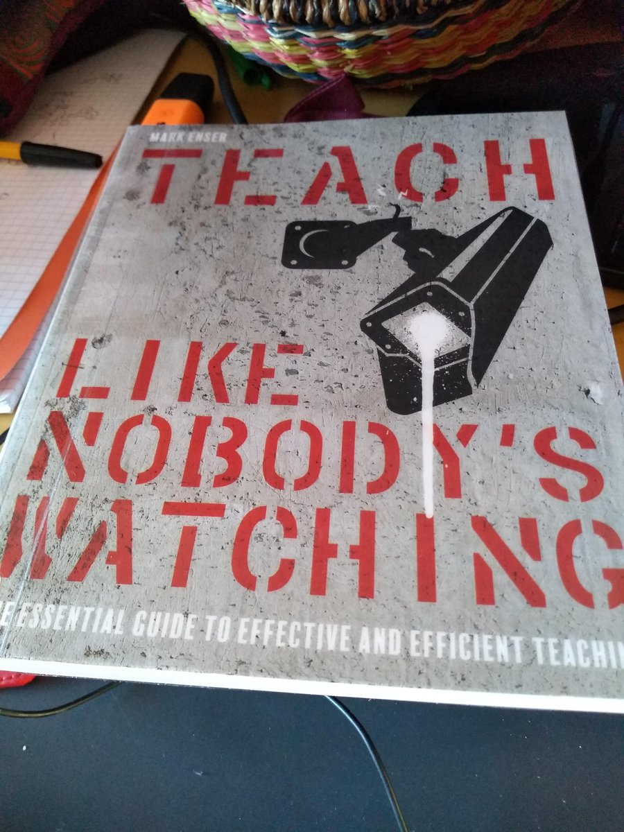 @EnserMark @tombennett71 @cijane02 @researchED1 I've already started it! #1 in my lockdown CPD library.